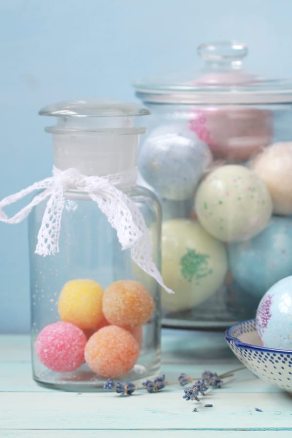Tips and tricks for making bath bombs