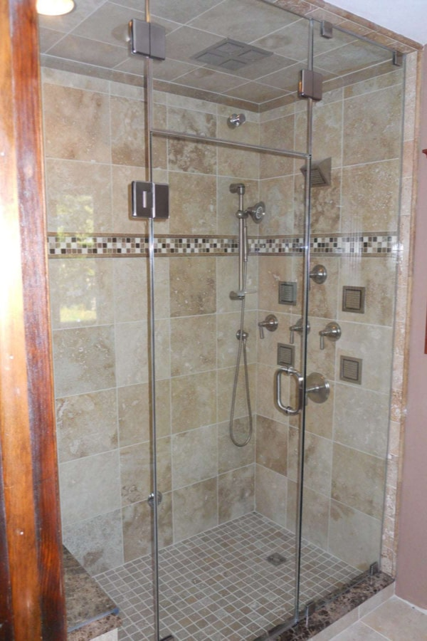 Steam Generator Controls and Shower Head